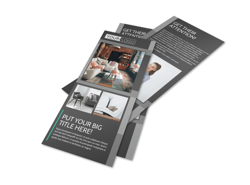 Furniture & Design Consultants Flyer Template Preview 4