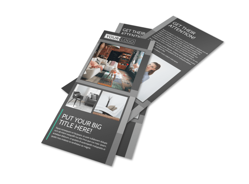 Furniture & Design Consultants Flyer Template Preview 1