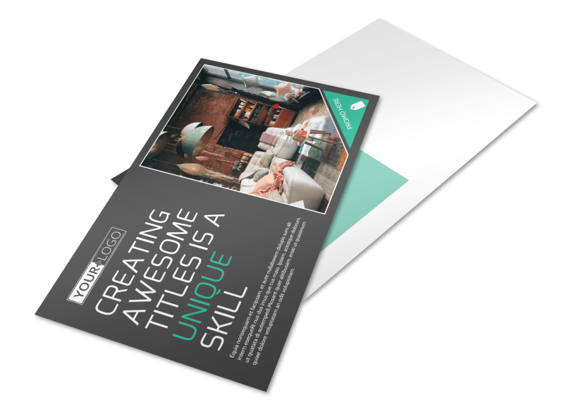 Furniture & Design Consultants Postcard Template Preview 1
