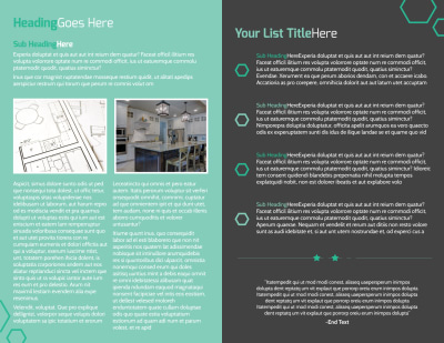 Kitchen Design Consultants Brochure Template Preview 2