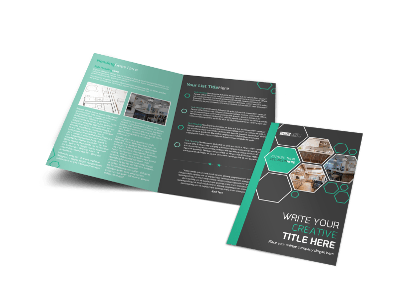 Kitchen Design Consultants Brochure Template Preview 1