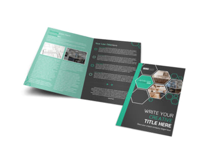 Kitchen Design Consultants Bi-Fold Brochure Template preview