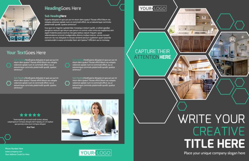 Kitchen Design Consultants Brochure Template Preview 2