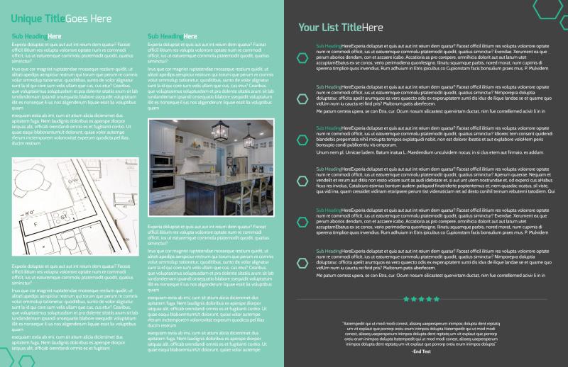 Kitchen Design Consultants Brochure Template Preview 3