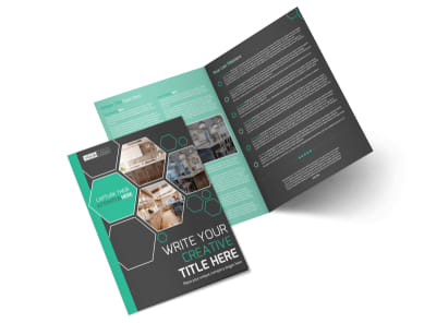 Kitchen Design Consultants Bi-Fold Brochure Template