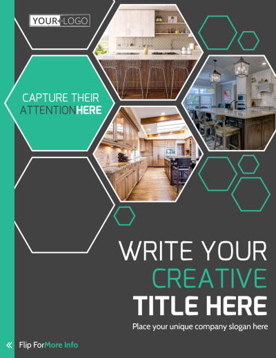 Kitchen Design Consultants Flyer Template Preview 1