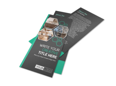 Kitchen Design Consultants Flyer Template preview