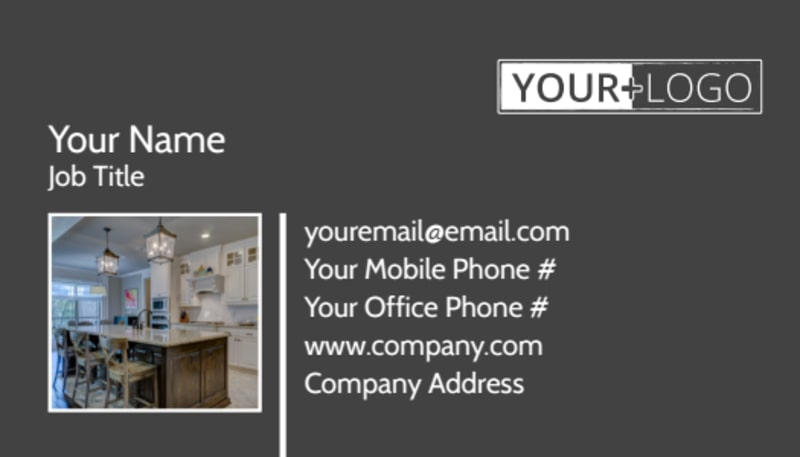 Kitchen Design Consultants Business Card Template Preview 2