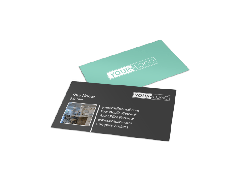 Kitchen Design Consultants Business Card Template Preview 1