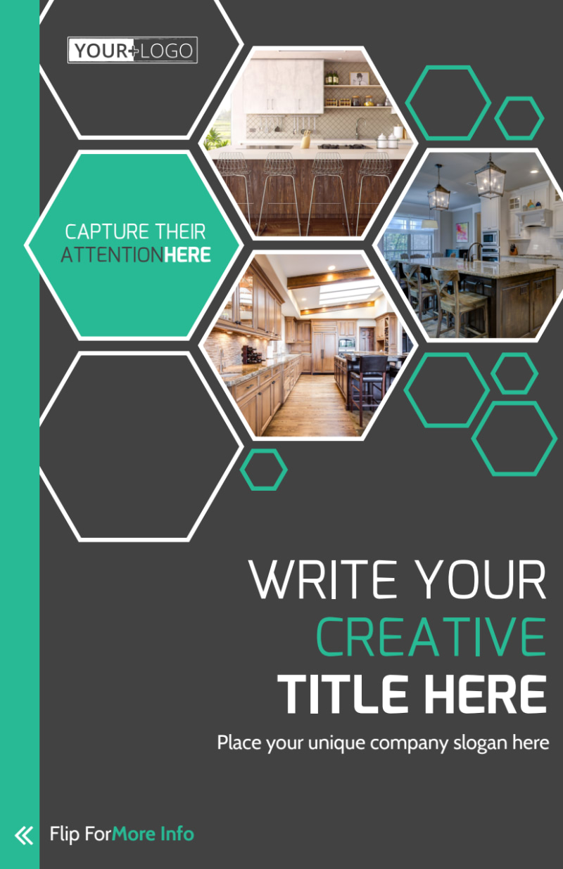 Kitchen Design Consultants Flyer Template Preview 2