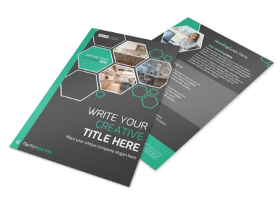 Kitchen Design Consultants Flyer Template