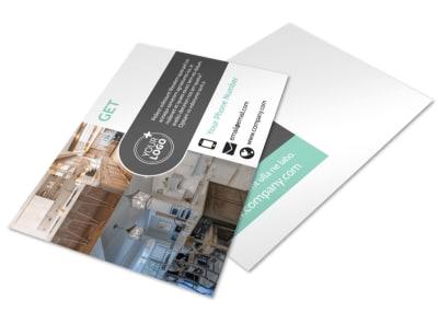 Kitchen Design Consultants Postcard Template preview