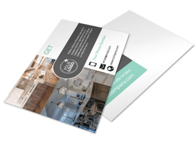Kitchen Design Consultants Postcard Template