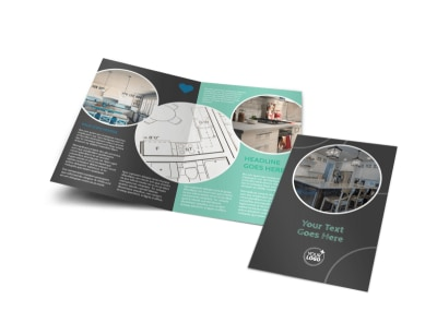 Kitchen Remodeling Bi-Fold Brochure Template