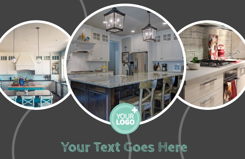 Kitchen Remodeling Postcard Template Preview 2