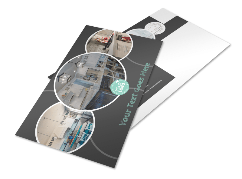 Kitchen Remodeling Postcard Template Preview 1
