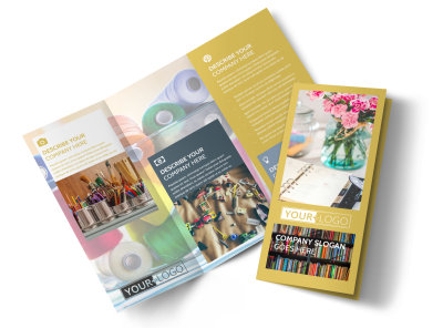 Home Organizing Service Tri-Fold Brochure Template preview