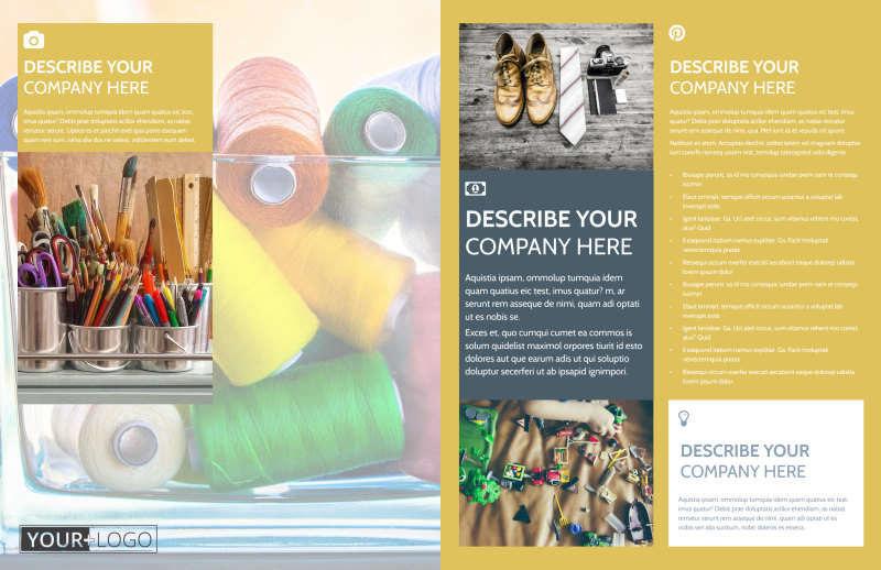 Home Organizing Service Brochure Template Preview 3