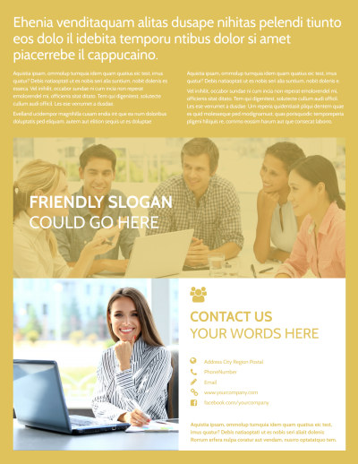 Home Organizing Service Flyer Template Preview 2