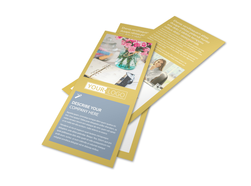 Home Organizing Service Flyer Template Preview 1