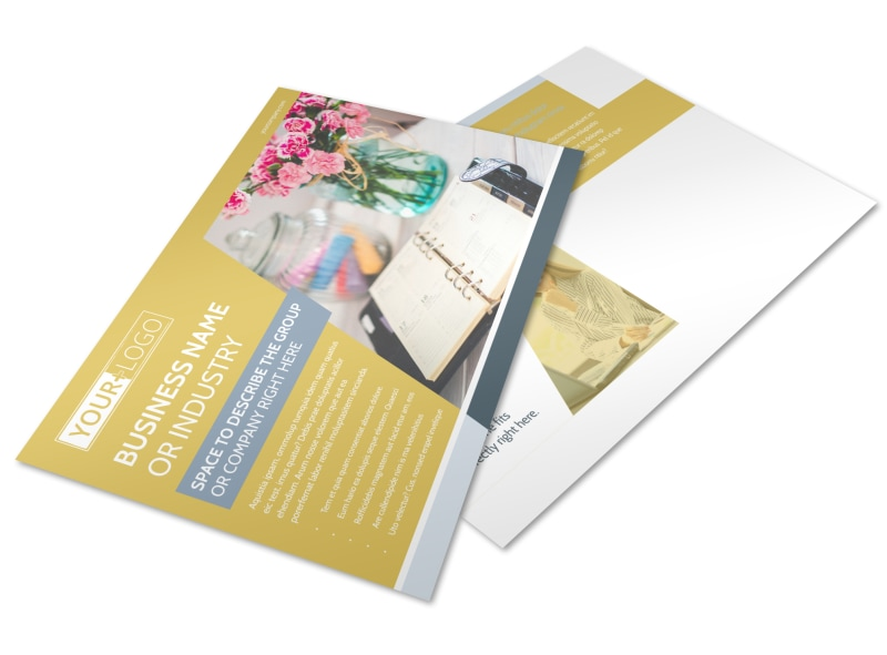 Home Organizing Service Postcard Template Preview 4