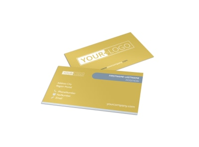 Home Organizing Service Business Card Template