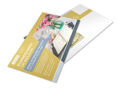 Home Organizing Service Postcard Template preview