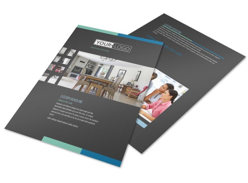 Interior Design Professionals Flyer Template