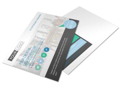 Interior Design Professionals Postcard Template preview