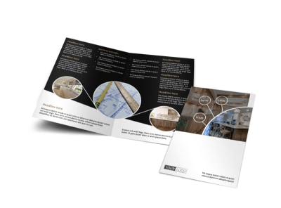 Kitchen Redesign Experts Bi-Fold Brochure Template