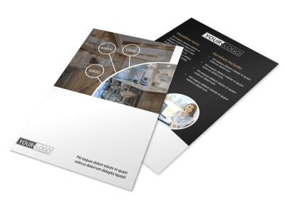 Kitchen Redesign Experts Flyer Template