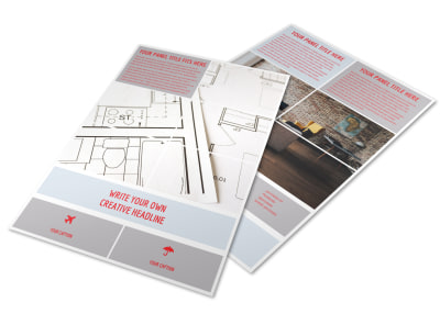 Creative Home Remodeling Flyer Template preview