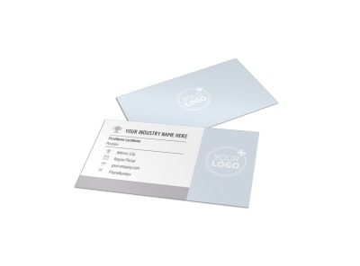 Creative Home Remodeling Business Card Template preview