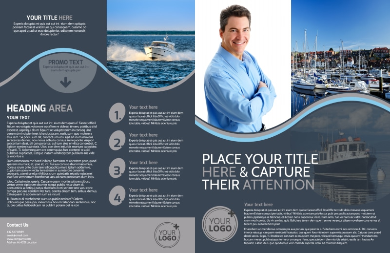 Boat & Watercraft Insurance Brochure Template Preview 2