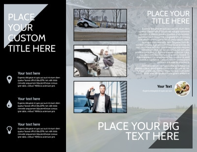 Auto Insurance Brochure Template Preview 2