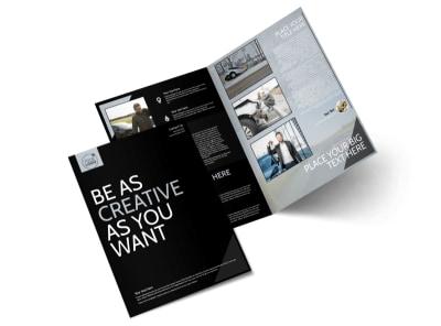 Auto Insurance Bi-Fold Brochure Template