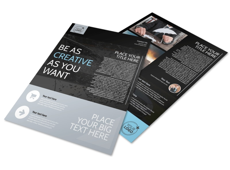 Auto Insurance Flyer Template Preview 4