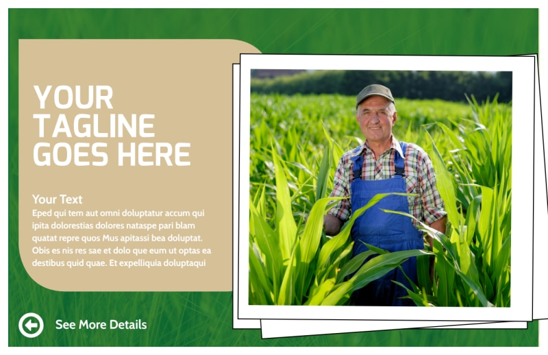 Farmers Insurance Agent Postcard Template Preview 2