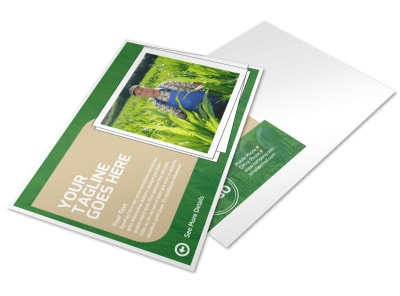 Farmers Insurance Agent Postcard Template