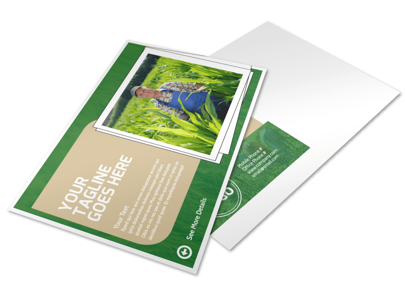 Farmers Insurance Agent Postcard Template Preview 1