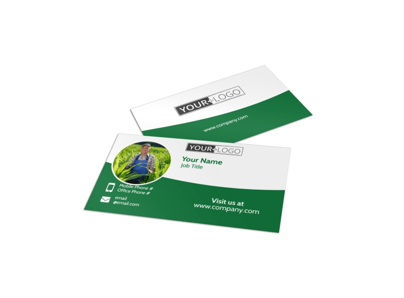 Farmers Insurance Agent Business Card Template Preview 4