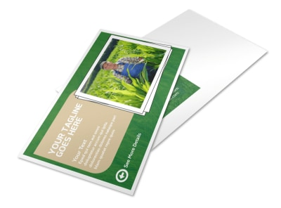 Farmers Insurance Agent Postcard Template preview