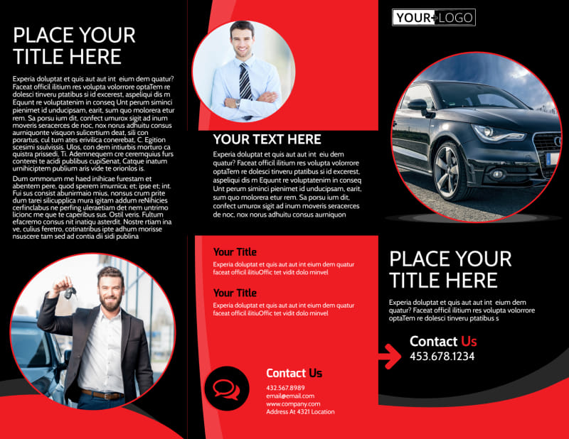 Auto Owners Insurance Brochure Template Preview 2