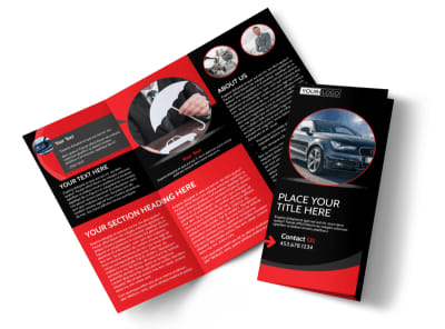 Auto Owners Insurance Tri-Fold Brochure Template