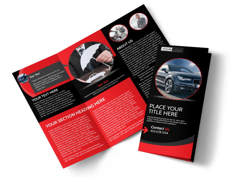 Auto Owners Insurance Brochure Template Preview 1