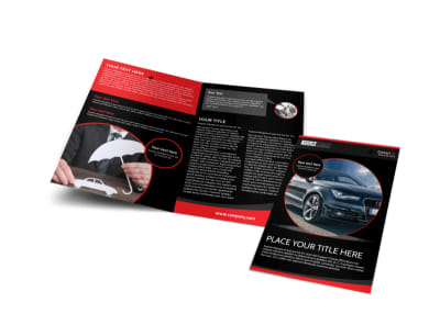 Auto Owners Insurance Bi-Fold Brochure Template