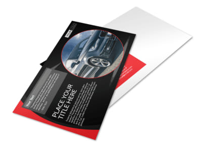 Auto Owners Insurance Postcard Template preview