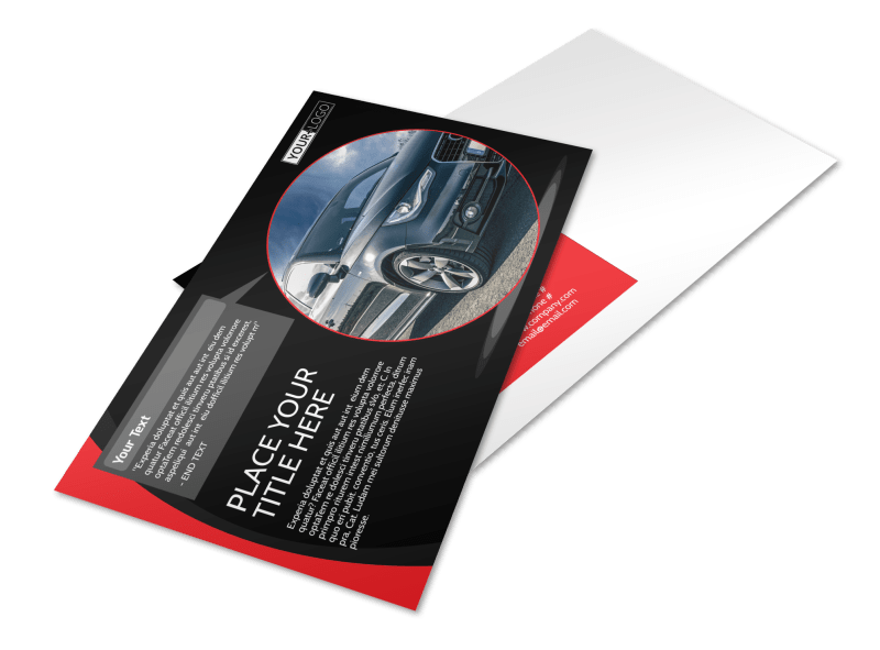 Auto Owners Insurance Postcard Template Preview 1