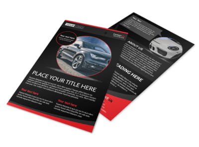 Auto Owners Insurance Flyer Template