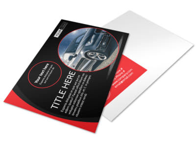Auto Owners Insurance Postcard Template